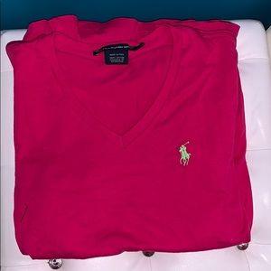 Ralph Lauren Sport Pink Tee shirt